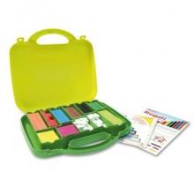 Regoli ARDA 10 misure/10 colori in plastica colorata Conf. 200 pezzi - 121