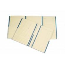 Cartelline a 2 lembi 4Pro A4 in carta schedografica 270 g/m² dorso 3 cm blu conf. da 20 pezzi - 7015 01