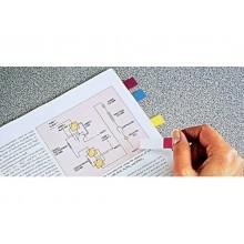 Segnapagina removibili Post-it® Index Mini con dispenser vivaci assortiti 4 confezioni da 35 - 683-4AB