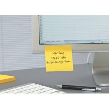 Foglietti riposizionabili Post-it® Super Sticky Notes 76x76 mm 90 ff giallo oro 654-S