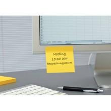 Foglietti riposizionabili Post-it® Super Sticky Notes 4,8x7,3 cm 90 ff Giallo Canary™ - 656-12SSCY-EU (Conf.12)