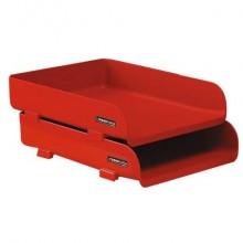 Portacorrispondenza ARDA RossoItalia polipropilene infrangibile rosso 25,4x33,5x7 cm - 85510RIR