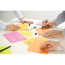 Foglietti riposizionabili Post-it® Super Sticky Meeting Notes Large assortiti conf. 4 blocchetti da 45 ff - 6845-SS EU