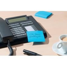 Dispenser foglietti adesivi Post-it® Super Sticky Z-Notes nero/trasparente DS440-SSCYL