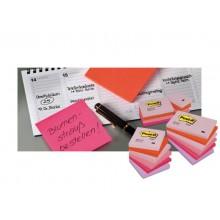 Foglietti riposizionabili classici Post-it® Notes 76x127 mm Giallo Canary™ blocchetto da 100 ff - 655 (Conf.12)