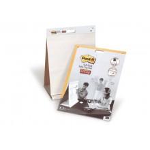 Lavagna da tavolo Post-it® Super Sticky 58,4 cm x 50,8 cm bianco 1 blocco da 20 fogli - 563R