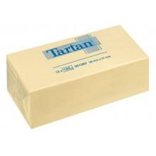 Foglietti riposizionabili Tartan™ Notes 100 ff 63 g/m² giallo 51 x 38 mm conf. da 12 blocchetti - 653 Yellow