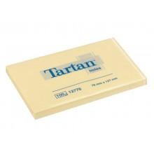 Foglietti riposizionabili Tartan™ Notes 100 ff 63 g/m² giallo 127x76mm conf. da 12 blocchetti - 655 Yellow