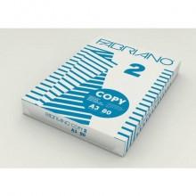 Carta per fotocopie A3 Fabriano COPY 2 500 ff bianco A3 42x29,7 cm 80 g/mq risma da 500 fogli - 41029742