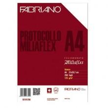 Fogli protocollo Fabriano PROTOCOLLO bianco 125 g/m² A4 conf. da 250 fogli - 02101256