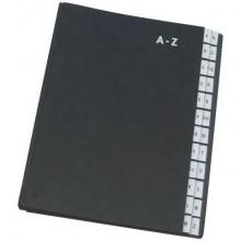 Libro monitore Q-Connect 270x340 mm nero A-Z KF04563