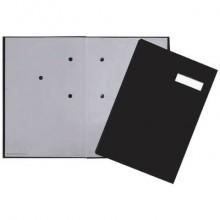 Libro firme Q-Connect 20 pagine 24x35 cm nero KF31014