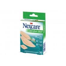 Cerotti Nexcare™ Comfort 360° assortiti in 3 misure impermeabili assortiti Conf. 30 cerotti - N1130ASD04