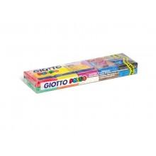 Plastilina modellabile GIOTTO Pongo assortiti confezione da 10x50 g - 510800