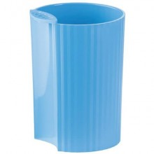 Portapenne LOOP HAN in polipropilene espandibile individualmente azzurro 17220-54