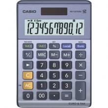 Calcolatrici da tavolo CASIO Extra Big LC solare e batteria display 12 cifre blu - MS-120TER II