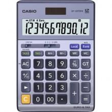 Calcolatrici da tavolo CASIO Extra Big LC display - solare e batteria Blu DF-120TER II