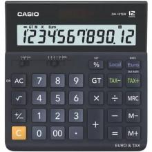 Calcolatrici da tavolo CASIO Extra Big LC display - solare e batteria Blu Scuro DH-12TER