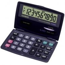 Calcolatrici scientifiche CASIO tascabile 10 cifre - solare e batteria Blu Scuro - SL-210TE