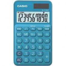 Calcolatrici scientifiche CASIO tascabile 10 cifre - solare e batteria Blu - SL-310UC-BU