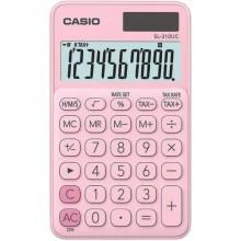 Calcolatrici scientifiche CASIO tascabile 10 cifre - solare e batteria Rosa - SL-310UC-PK