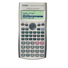 Calcolatrici finanziarie CASIO 10 cifre + 2 - batteria Argento FC-100V