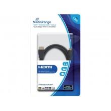 Cavo di collegamento Media Range HDMI/Mini HDMI ad alta velocità con contatti dorati 10,2 Gbit/s - MRCS165