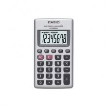 Calcolatrici scientifiche CASIO 8 cifre a batteria Argento HL-820VA