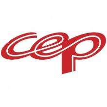 Portapenne CepPro Gloss CEP in polistirene con 2 scomparti blu oceano 1005300351