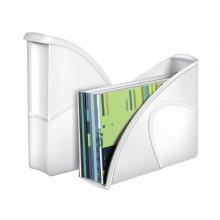Portariviste CepPro Gloss CEP in polistirolo utilizzabile in formato verticale e orizz. bianco - 1006740021