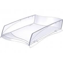 Vaschetta portacorrispondenza Ellypse CEP in polistirolo capacità fino a 500 fogli trasparente - 1003000111 (Conf.10)