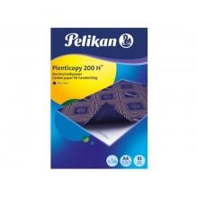 Carta da ricalco Pelikan Plenticopy 200H blu confezione 10 fogli - 434738