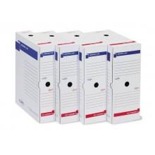 Scatola archivio Sei Rota Memory X 100 25x35 cm dorso 10 cm bianco - 673210