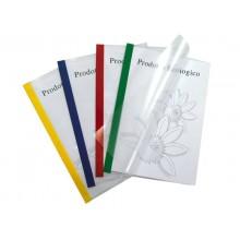 Copertine per rilegatrici Sei Rota Poli 200 verde conf. 10 pz. - 66230505