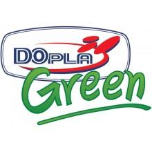 Piatti frutta monouso biodegradabili Dopla Green Ø 17,5 cm polpa di cellulosa bianco  conf.50 - 7703