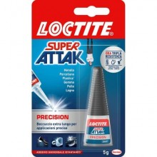 Colla Loctite Super Attak Precision 5 g. trasparente 2048079
