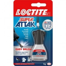 Colla Loctite Super Attak  Easy Brush 5 g. trasparente 2048077