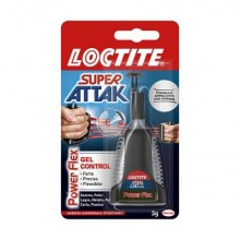 Colla Loctite Super Attak Control Power Flex 3 g. trasparente 2047417