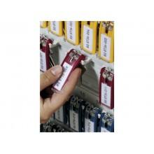 Portachiavi DURABLE KEY CLIP colori assortiti conf. 6 - 195700