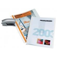Cartellina per rilegatura DURABLE DURABIND® robusto PVC A4 1-30 fogli nero 225001 (Conf.25)