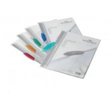 Cartelline con clip DURABLE SWINGCLIP® RETAIL PACK polipropilene flessibile A4 colori assortiti  conf. 5 - 228400