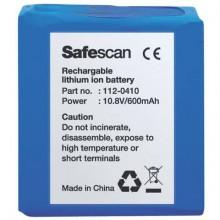 Batteria al litio ricaricabile per rilevatore banconote Safescan LB-105 nero - 112-0410