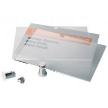 Targhe DURABLE CRYSTAL SIGN acrilico trasparente 297x420 mm 482619