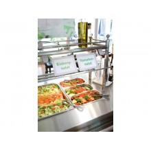 Cornici con pannello magnetico DURABLE DURAFRAME® A6 argento metallizzato 176x130mm  conf. 2 - 487023