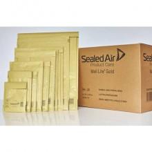 Buste imbottite Mail Lite® Gold CD 18x16 cm Avana Conf. 100 pezzi - 103008657
