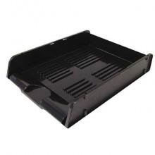 Portacorrispondenza ARDA Classic polistirolo atossico nero opaco per fogli fino a 24x32 cm - 25310N (Conf.10)