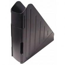 Portariviste ARDA Classic polistirolo antiurto nero opaco 7,5x27x29,5 cm 4118N
