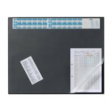 Sottomano DURABLE con calendario 4 anni pvc nero 65x52 cm 720401