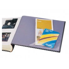 Tasche adesive DURABLE CORNERFIX® triangolari polipropilene trasparente 175x175mm  conf. 100 - 828319