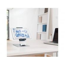 """Porta tablet da tavolo DURABLE per tablet da 7"""" a 13"""" argento metallizzato 15,5x24,2x18,3cm - 893023"""